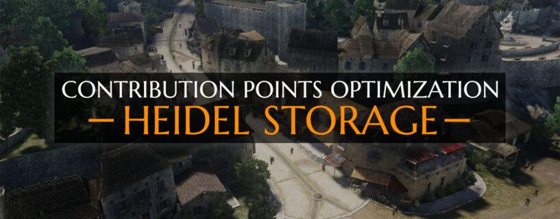 CP Optimization [Heidel Storage]